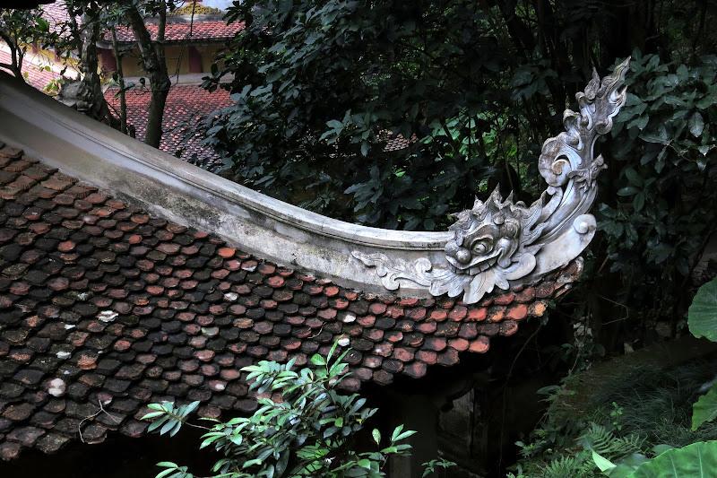 Corner of a roof