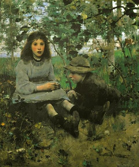 Edward Arthur Walton - A Daydream 1885