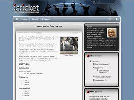 iCricket Theme