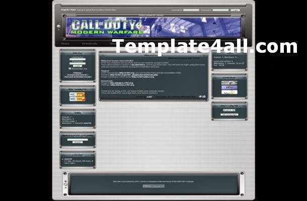 Free Call Of Duty Games E107 Theme Template