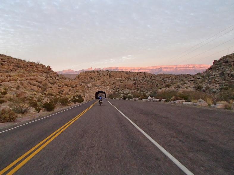 Big Bend National Park Tunnel near Rio Grande Village