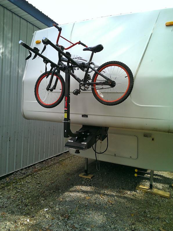 Trailer Life Magazine Open Roads Forum Pin Box Bike Rack