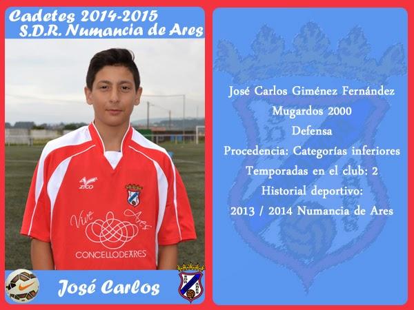 ADR Numancia de Ares. JOSE CARLOS.