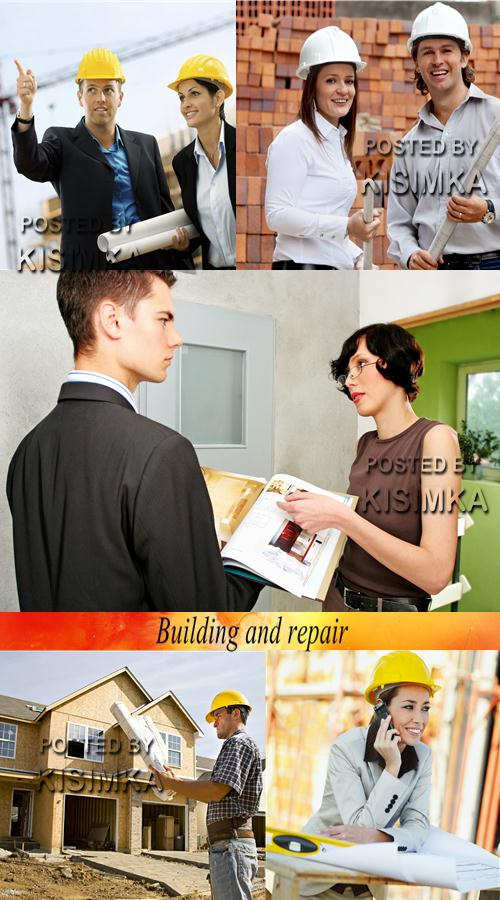 Stock Photo: Building and repair