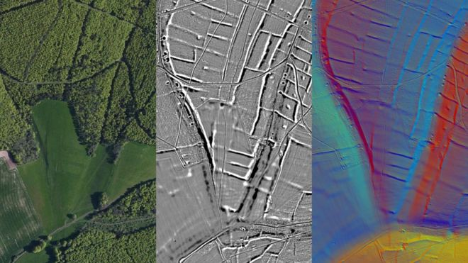 UK: LIDAR reveals pre-Roman 'farming collective' in Sussex