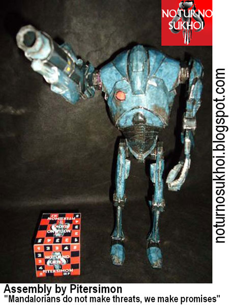 B2 Super Battle Droid Papercraft