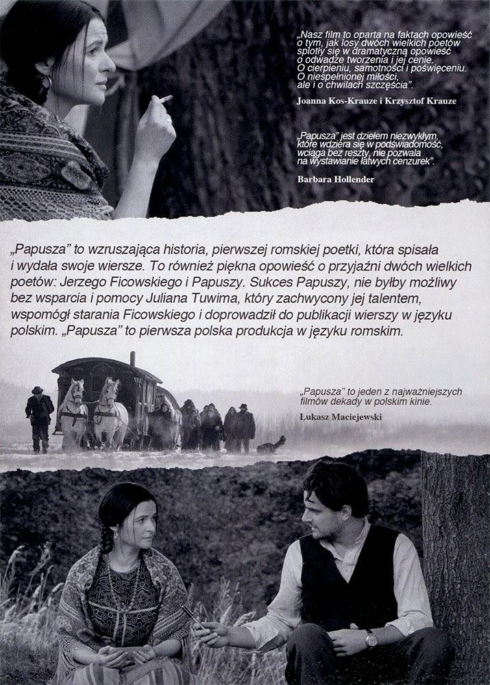 Ulotka filmu 'Papusza (tył)'