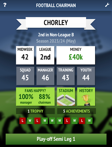 Football Chairman v1.0.6 for Android