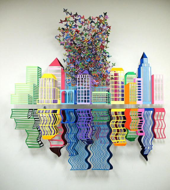 Incredible Metal Sculptures by David Kracov