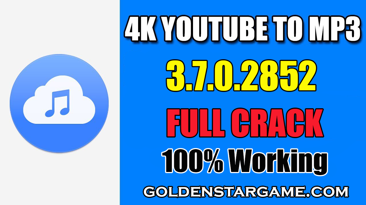 4K YouTube to MP3 3.7.0.2852 License Key Full Version 2019 (100% Working) + Portable (100% Working)