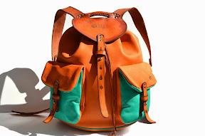 кожаный рюкзак ручной работы № 79 dominicana