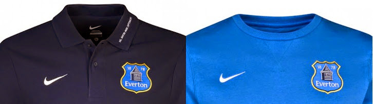 Everton new official shirts 2013-2014