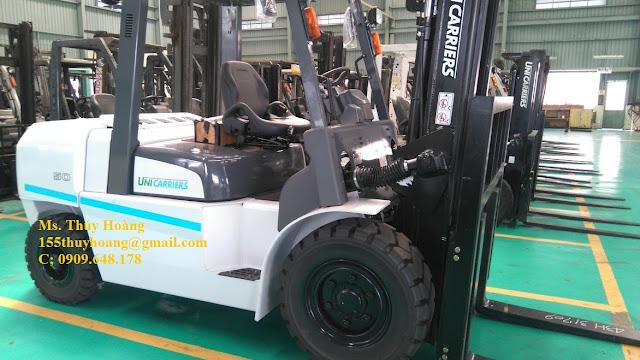 Xe nâng diesel 5 tấn Nissan Nhật Bản
