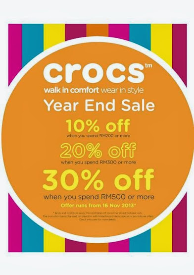 Crocs Year End Sale