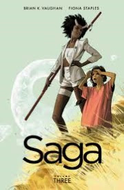 Cover art for Saga Volume 3