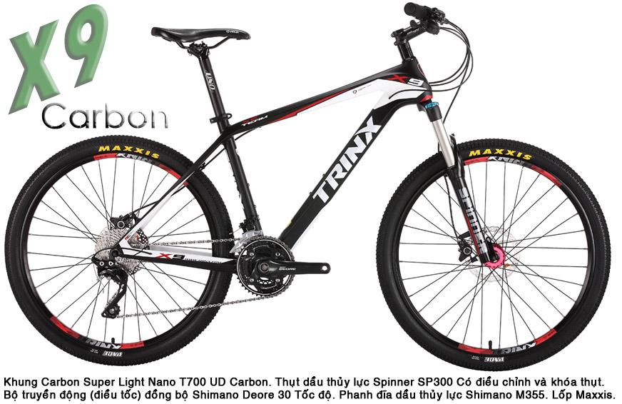 xe dap the thao tRINx X9 carbon