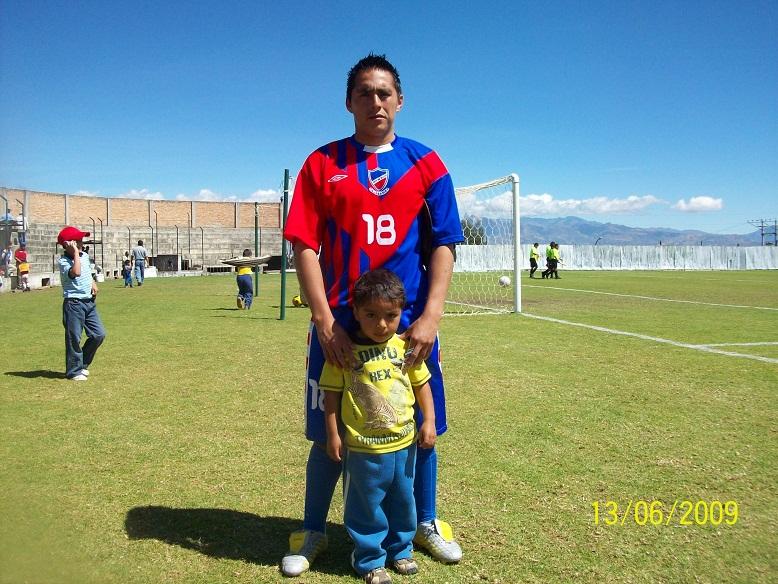Cruzada deportiva de Solidaridad en favor de Franco Salazar