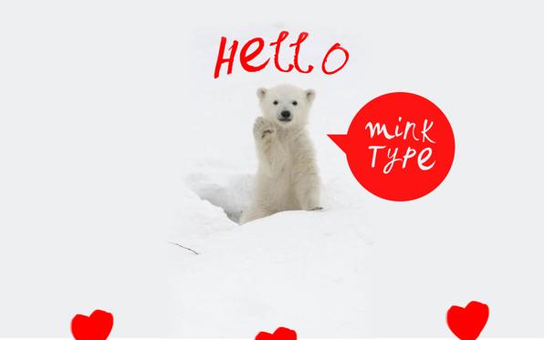 Mink Type Free Fonts