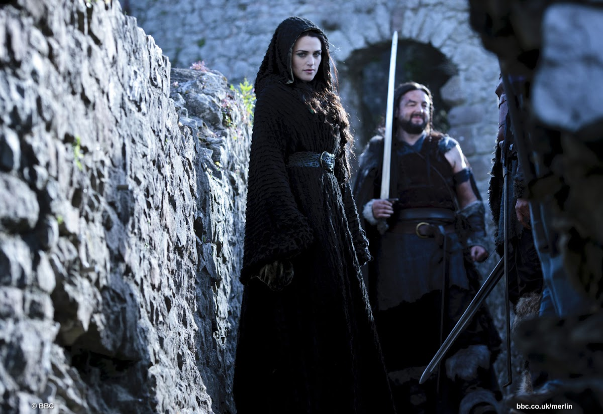 Katie McGrath is Morgana in BBC Merlin His Father's Son