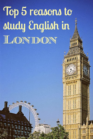 Top 5 reasons to study English in London