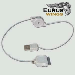 Retractable USB Data Cable , Mini 4-Pin 2.0
