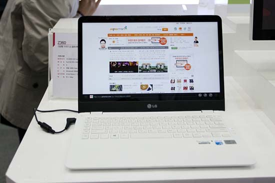 New Upcoming LG Z360 Ultrabook Preview and specification