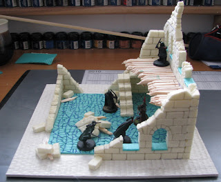 ruiny miasta osgiliath