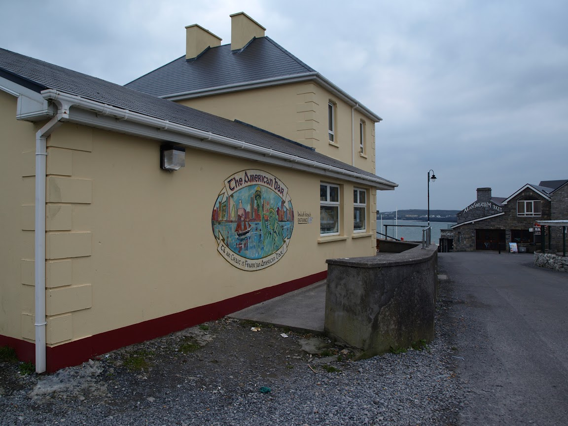 The American Bar, Inis Mor, Aran Islands, Ireland