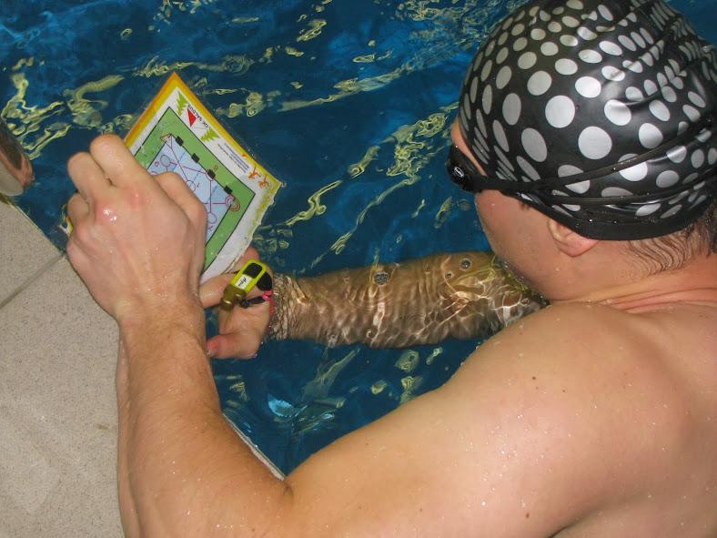 Underwater orienteering