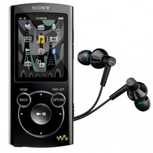 Enjoy music with Sony 8GB Video MP3 Walkman