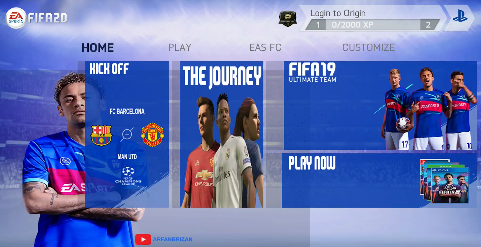 FIFA 20 MOD FIFA 14 Android Offline 900MB New Menu Face Kits 2020 & Transfers Update Best Graphics