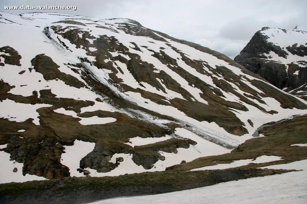Avalanche Haute Maurienne, secteur Ouille Noire, Sous le Pays Désert - Photo 1