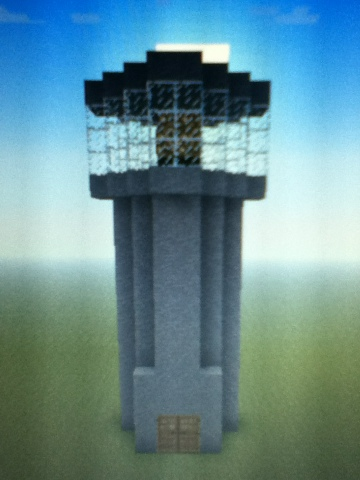 how to build a lighthouse on minecraft