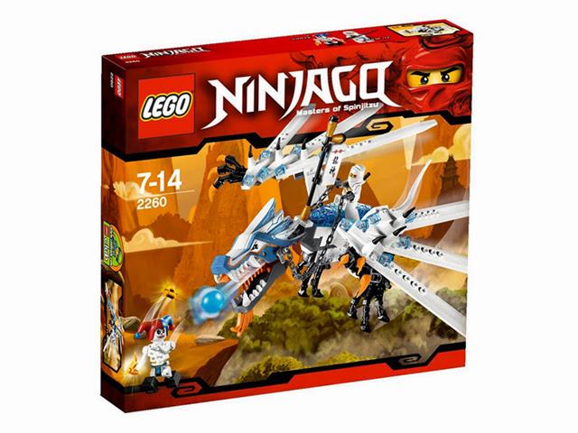 2260 レゴ ニンジャゴー アイス・ドラゴン