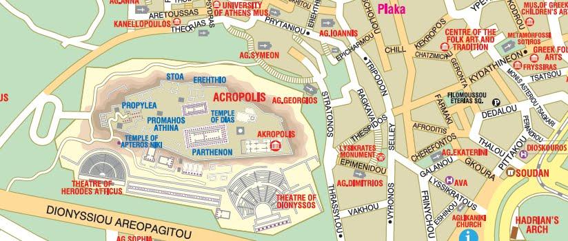 Guia De Atenas Grecia Viagem Decaonline Dicas De Viagem