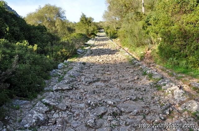 Calzada romana de Ubrique - Benaocaz - Villaluenga