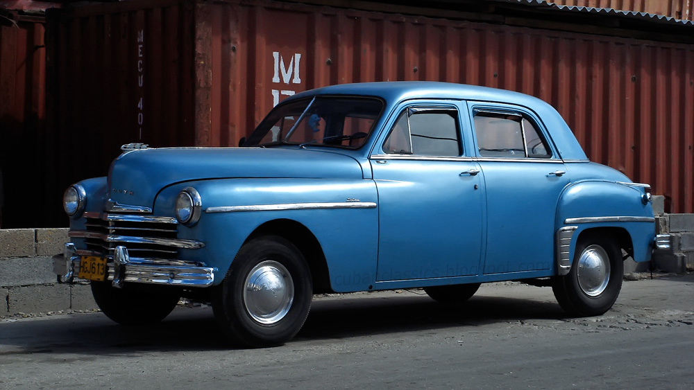 1949 plymouth deluxe 4 door sedan cubanclassics