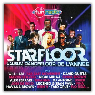 1 VA Fun Radio Starfloor 2013 (L'Album Dancefloor De L'annee) 2012