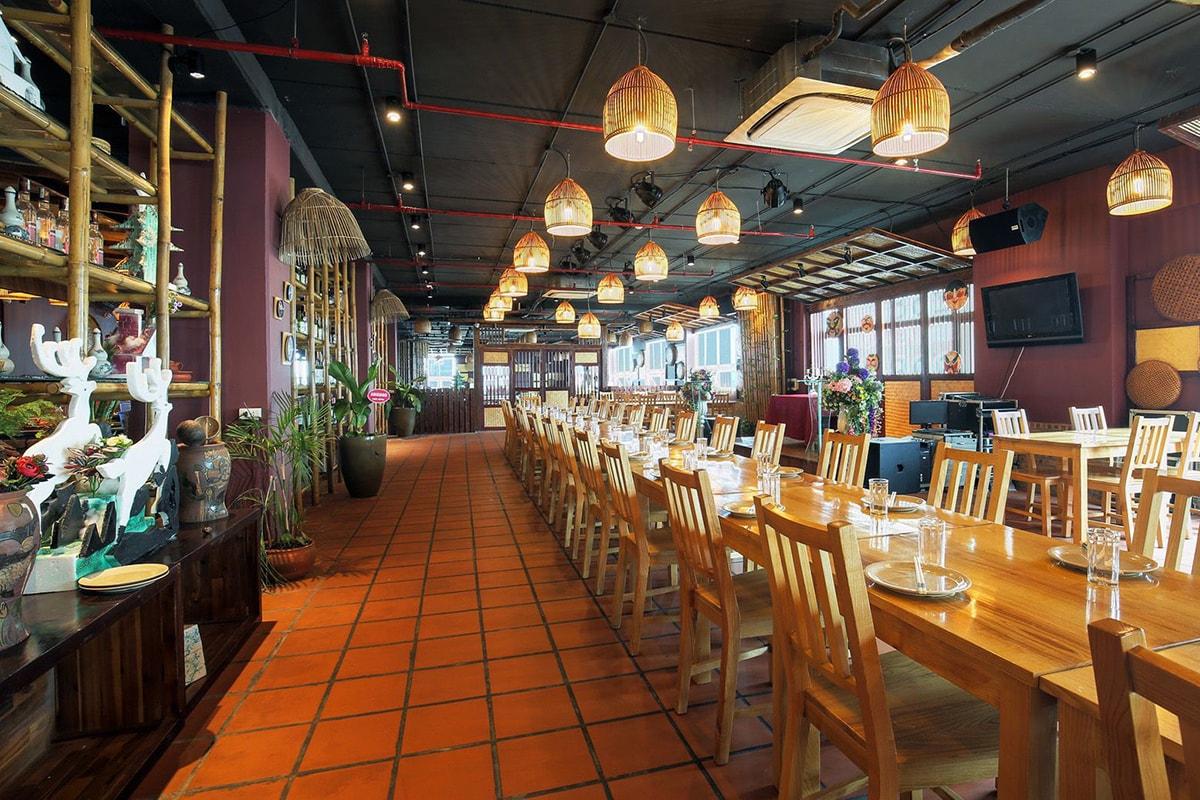 Nhà hàng tại dự án Hoa Viên 5*