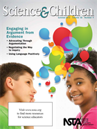 Cover of the NSTA elementary school journal, Science and Children.