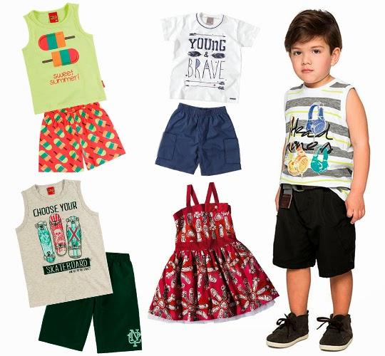 roupas de verão para crianças