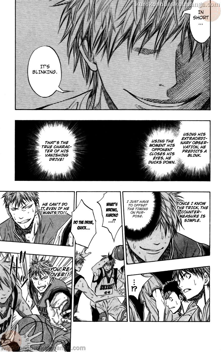 Kuroko no Basket Manga Chapter 103 - Image 15