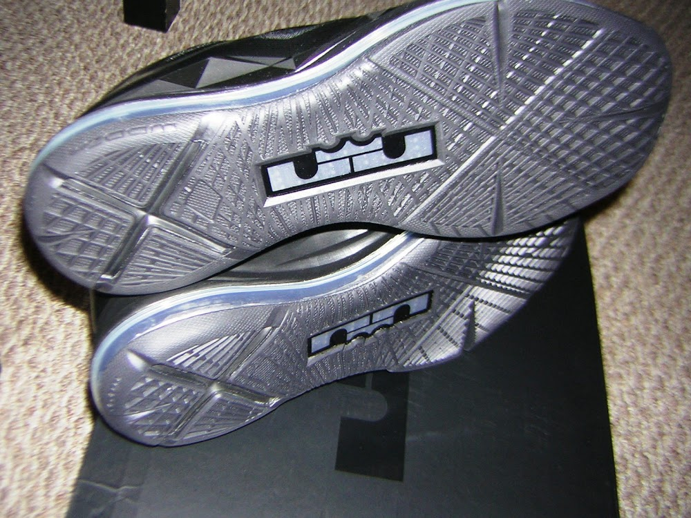 huge discount 9bf50 99505 ... Another Look at Nike LeBron X Carbon aka 8220Black Diamond8221 ...