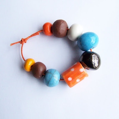 Ceramic Beads by Earthbutter Beads