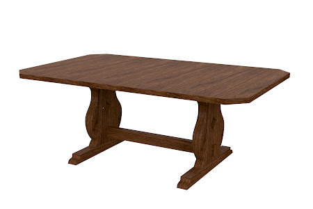 Bordeaux Conference Table in Cocoa Cherry