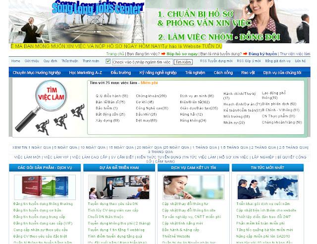 Dự án thiết kế website doanh nghiệp 08