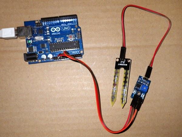 capteur humidite arduino