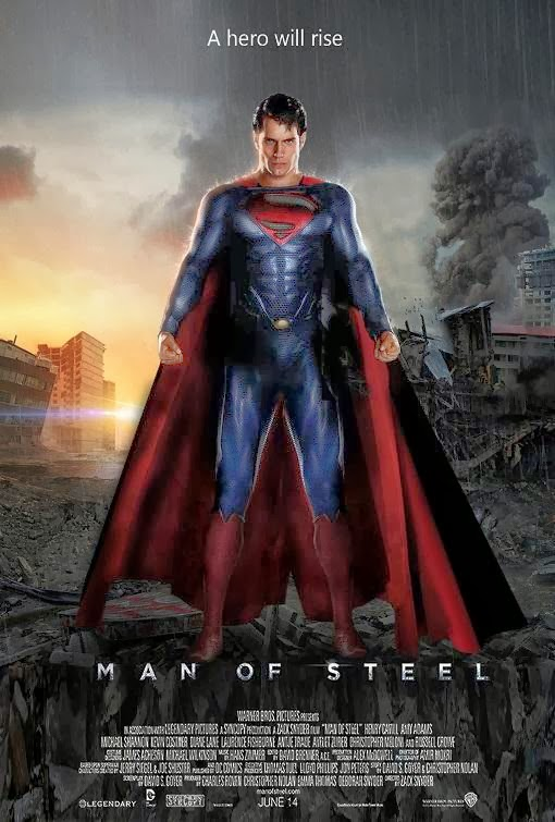Poster Of English Movie Man of Steel (2013) Free Download Full New Hollywood Movie Watch Online At Alldownloads4u.Com