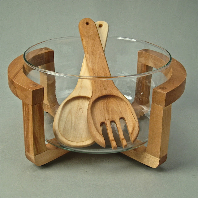 Wooden Salad Bowl With Stand Wooden Salad Bowls