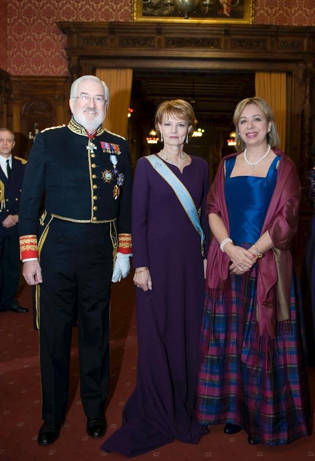 Ambasadorul Spaniei, Estanislao de Grandes Pascual, la Castelul Regal Săvârșin